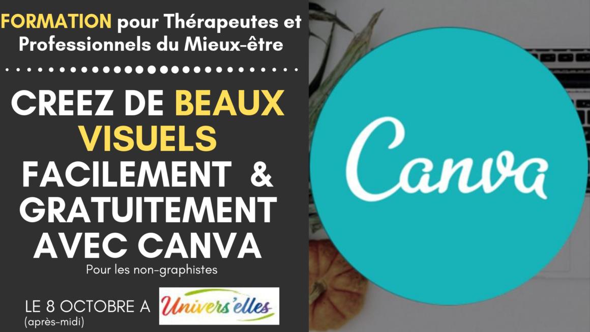 8 octobre 2019 Formation | Créez des visuels attractifs facilement avec Canva